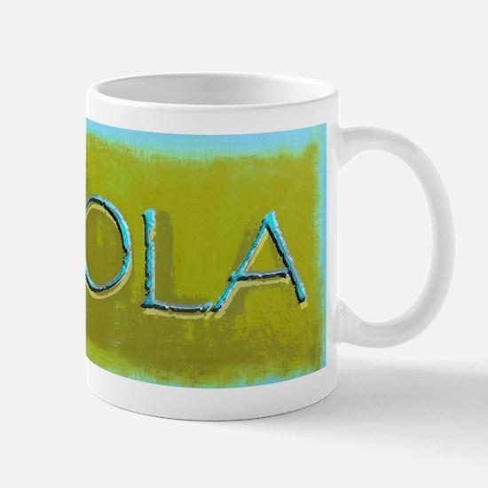 NOLA OLIVE TURQ Mugs
