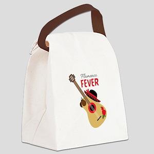 Flamenco Fever Canvas Lunch Bag