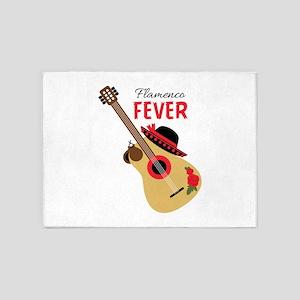 Flamenco Fever 5'x7'Area Rug