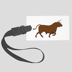 Spanish Bull Luggage Tag