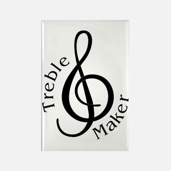 Treble Maker Rectangle Magnet