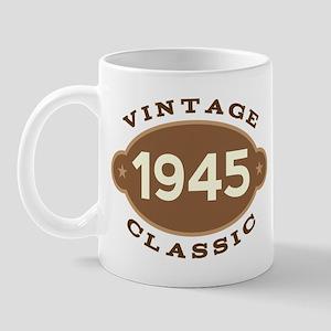 1945 Birth Year Birthday Mug