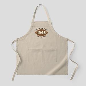 1945 Birth Year Birthday Apron