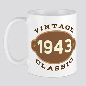 1943 Birth Year Birthday Mug