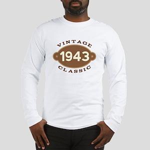 1943 Birth Year Birthday Long Sleeve T-Shirt