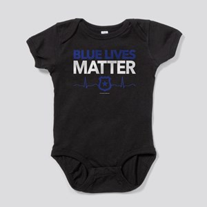 Blue Lives Matter Baby Bodysuit