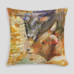 Forever Friends Animal Art Everyday Pillow