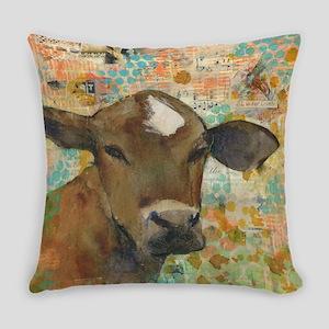 Baleful Eyes Animal Art Everyday Pillow