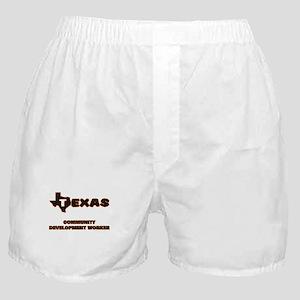 Texas Community Development Worker Boxer Shorts