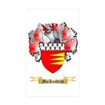 MacKendrick Sticker (Rectangle 50 pk)