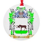 Macken Round Ornament