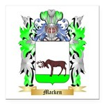 Macken Square Car Magnet 3