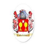 MacKelvey Oval Car Magnet