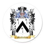 MacKelloch Round Car Magnet