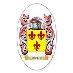 Mackell Sticker (Oval 10 pk)