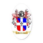 MacKeehan Oval Car Magnet