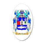 MacKean 35x21 Oval Wall Decal