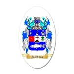 MacKean 35x21 Oval Wall Decal