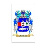 MacKean 35x21 Wall Decal