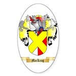 MacKeag Sticker (Oval 50 pk)