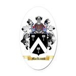 MacKcomb Oval Car Magnet
