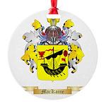 MacKaine Round Ornament