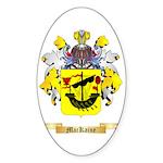 MacKaine Sticker (Oval 50 pk)