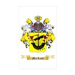 MacKain Sticker (Rectangle 50 pk)