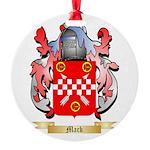 Mack Round Ornament