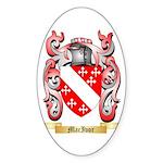 MacIvor Sticker (Oval 50 pk)