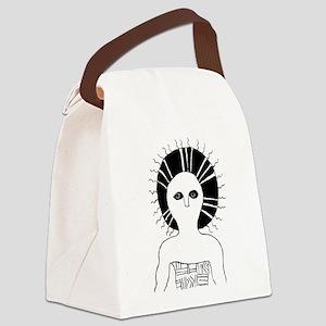 Sun shaman Canvas Lunch Bag