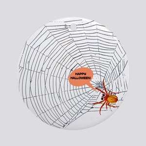 Spider Ornament (Round)