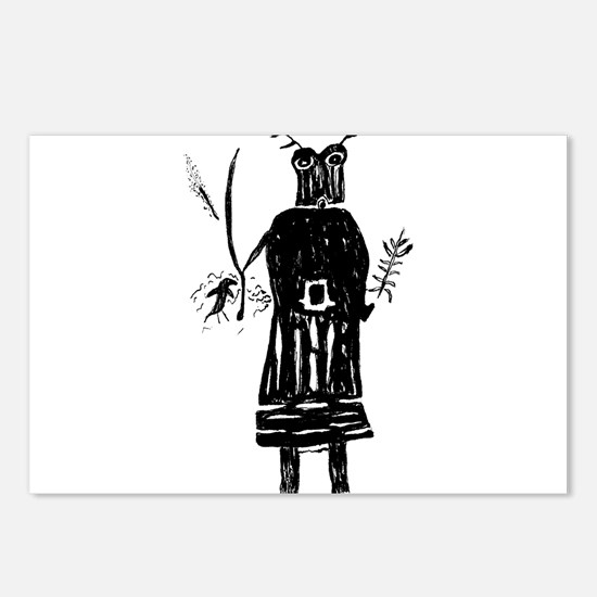 Cute Shamanism Postcards (Package of 8)