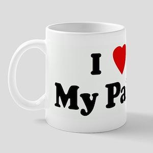 I Love My Paisa Mug