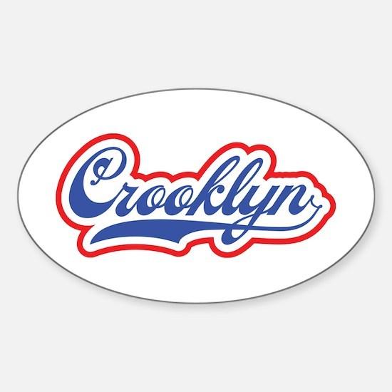 Crooklyn, NYC Decal