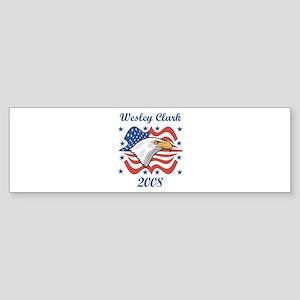 Wesley Clark 08 (eagle) Bumper Sticker