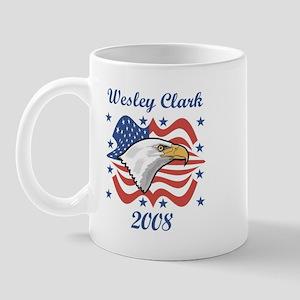 Wesley Clark 08 (eagle) Mug