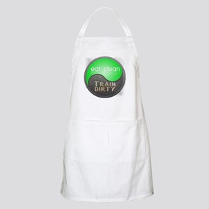 eat clean 12x12 circle Apron
