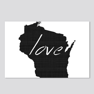 Love Wisconsin Postcards (Package of 8)