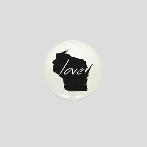 Love Wisconsin Mini Button