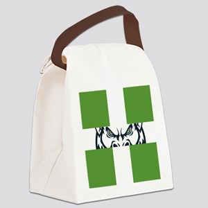 Green GFC Flag Canvas Lunch Bag