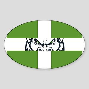 Green GFC Flag Sticker