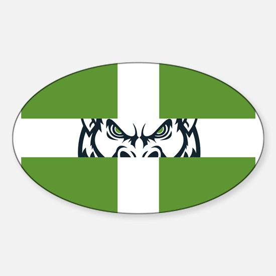 Green GFC Flag Decal
