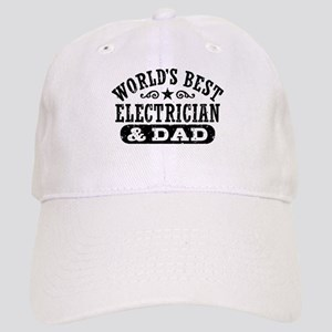 World's Best Electrician and Dad Cap