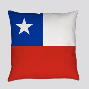 Flag of Chile Everyday Pillow