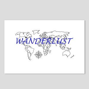 Wanderlust Postcards (Package of 8)