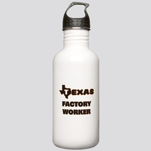 Texas Factory Worker Stainless Water Bottle 1.0L
