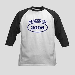 Made in 2006 Kids Baseball Jersey