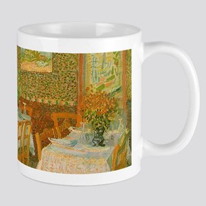 Van Gogh Interior of a Restaurant Mugs