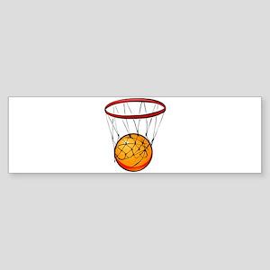 shoot hoops Sticker (Bumper)